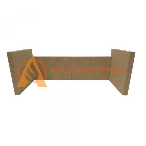 Aarrow Acorn 4 Flexi-fuel Fire Brick Set