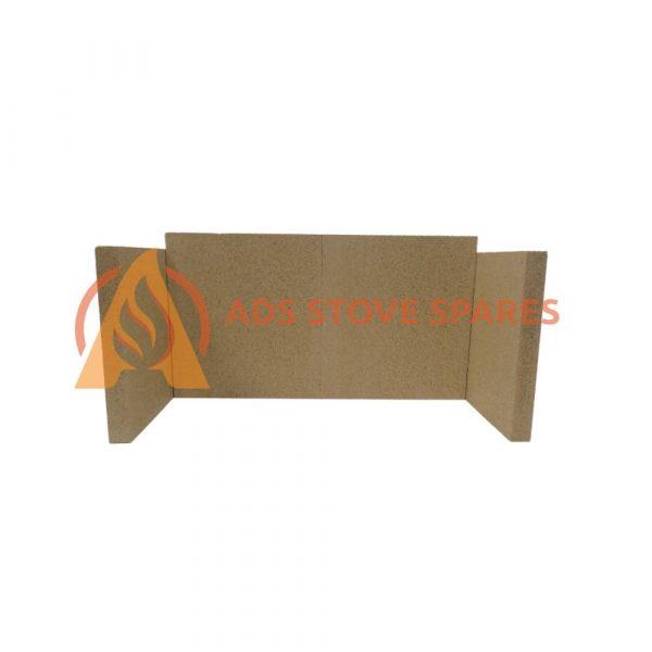 Dean Forge Dartmoor 5 Wide Fire Brick Set