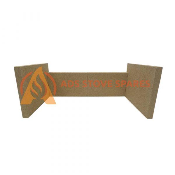 Aarrow Ecoburn 4 Plus Fire Brick Set