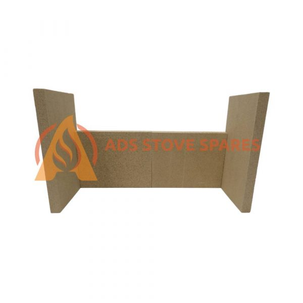 Aarrow Ecoburn 9 Plus Fire Brick Set