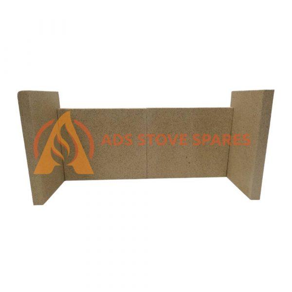 Aarrow Hamlet Solution 11 Multi Fuel S2 Fire Brick Set