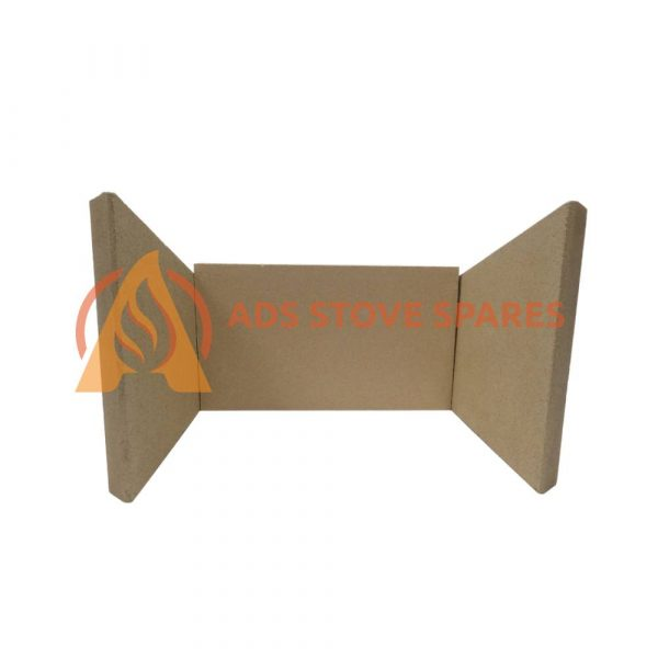 Clearview Inset Deep Fire Brick Set